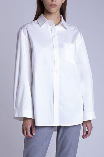 Рубашка oversize из хлопка BEAVR_BA_FW20_84, фото 1 - в интеренет магазине KAPSULA
