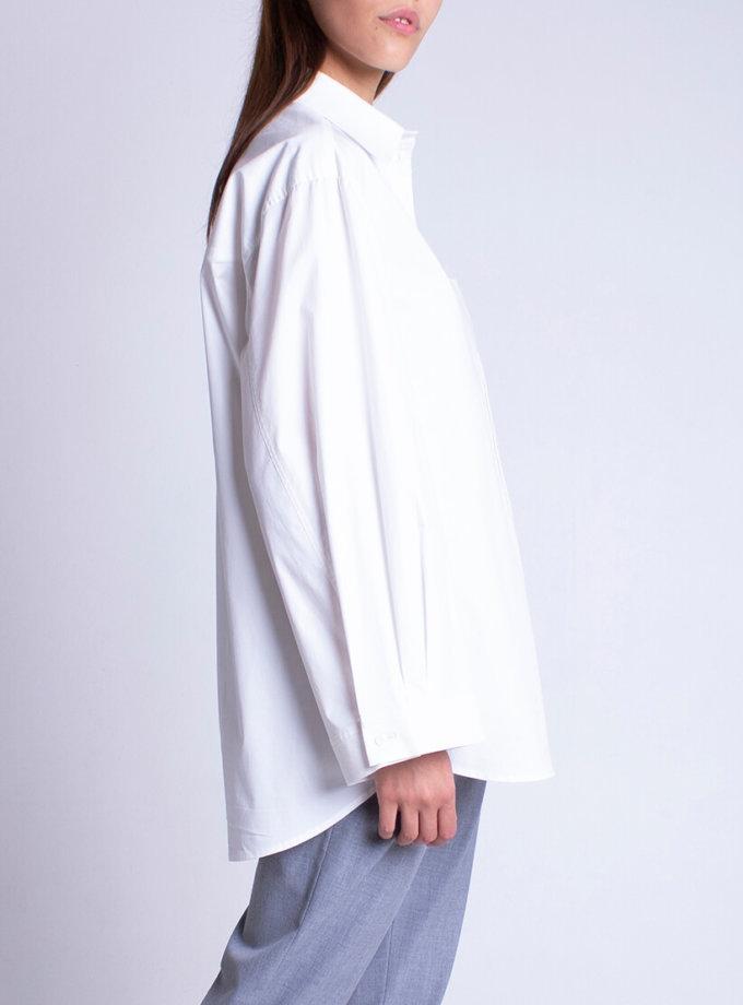 Рубашка oversize из хлопка BEAVR_BA_FW20_84, фото 1 - в интернет магазине KAPSULA