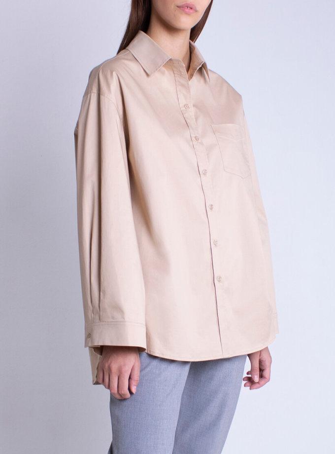Рубашка oversize из хлопка BEAVR_BA_FW20_85, фото 1 - в интеренет магазине KAPSULA