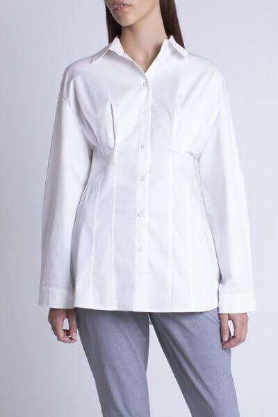 Рубашка oversize из хлопка BEAVR_BA_FW20_86, фото 1 - в интеренет магазине KAPSULA