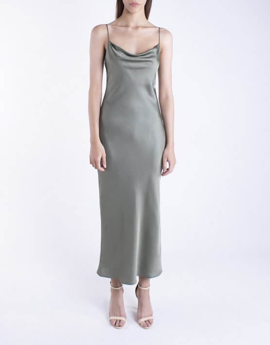 Платье на тонких бретелях BEAVR_BA_SS20_69, фото 4 - в интеренет магазине KAPSULA