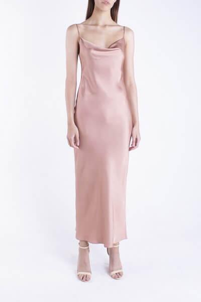 Платье на тонких бретелях BEAVR_BA_SS20_70, фото 4 - в интеренет магазине KAPSULA