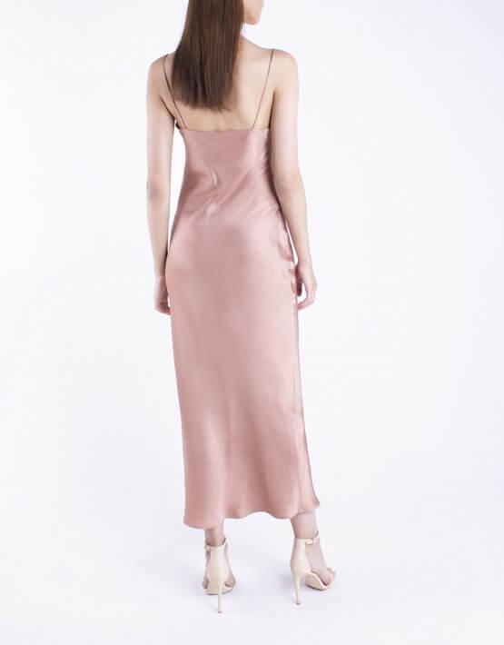 Платье на тонких бретелях BEAVR_BA_SS20_70, фото 3 - в интеренет магазине KAPSULA