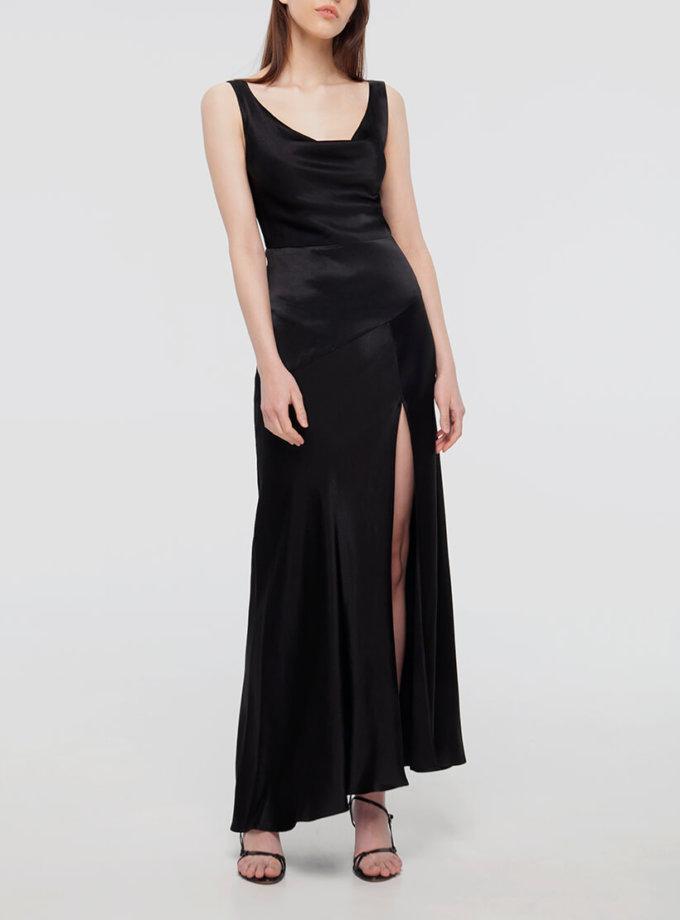 Платье с разрезом на шелковом подкладе BEAVR_BA_SS20_74, фото 1 - в интеренет магазине KAPSULA