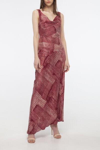 Шелковое платье с разрезом BEAVR_BA_SS20_76, фото 2 - в интеренет магазине KAPSULA