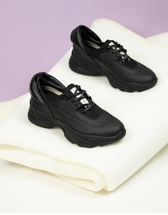 Кроссовки из кожи CLS_CFW20BS, фото 9 - в интеренет магазине KAPSULA