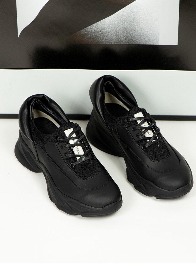 Кроссовки из кожи CLS_CFW20BS, фото 1 - в интеренет магазине KAPSULA