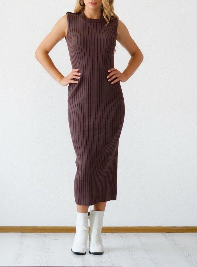 Трикотажное платье из хлопка CHMSP_CS_18294, фото 1 - в интеренет магазине KAPSULA