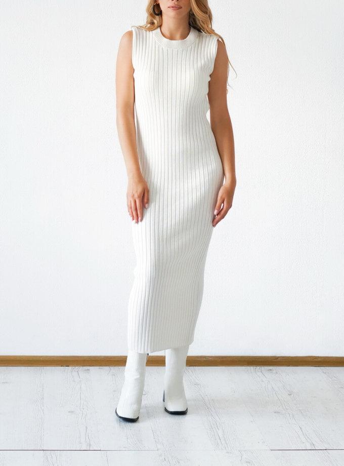 Трикотажное платье из хлопка CHMSP_CS_18296, фото 1 - в интеренет магазине KAPSULA