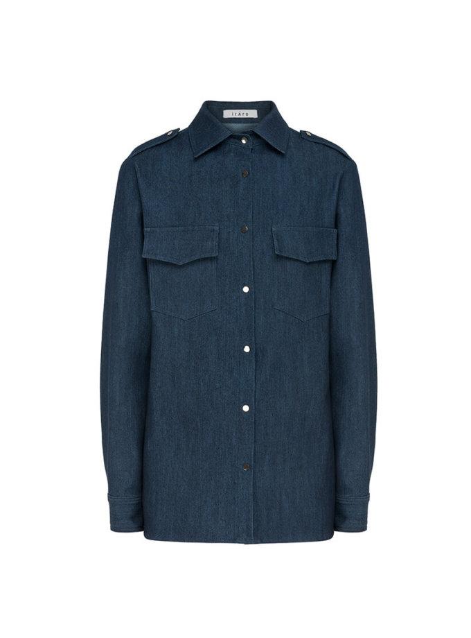 Рубашка из денима IRRO_IR_FW20_SD_010, фото 1 - в интеренет магазине KAPSULA
