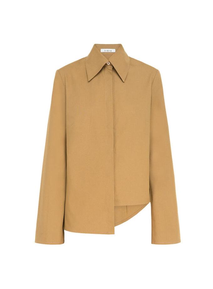 Асимметричная рубашка из хлопка IRRO_IR_FW20_SA_016, фото 1 - в интернет магазине KAPSULA