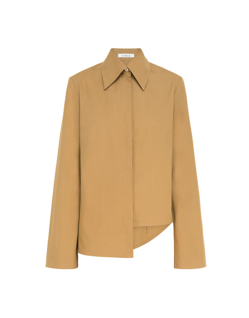 Асимметричная рубашкка из хлопка IRRO_IR_FW20_SA_016, фото 1 - в интеренет магазине KAPSULA