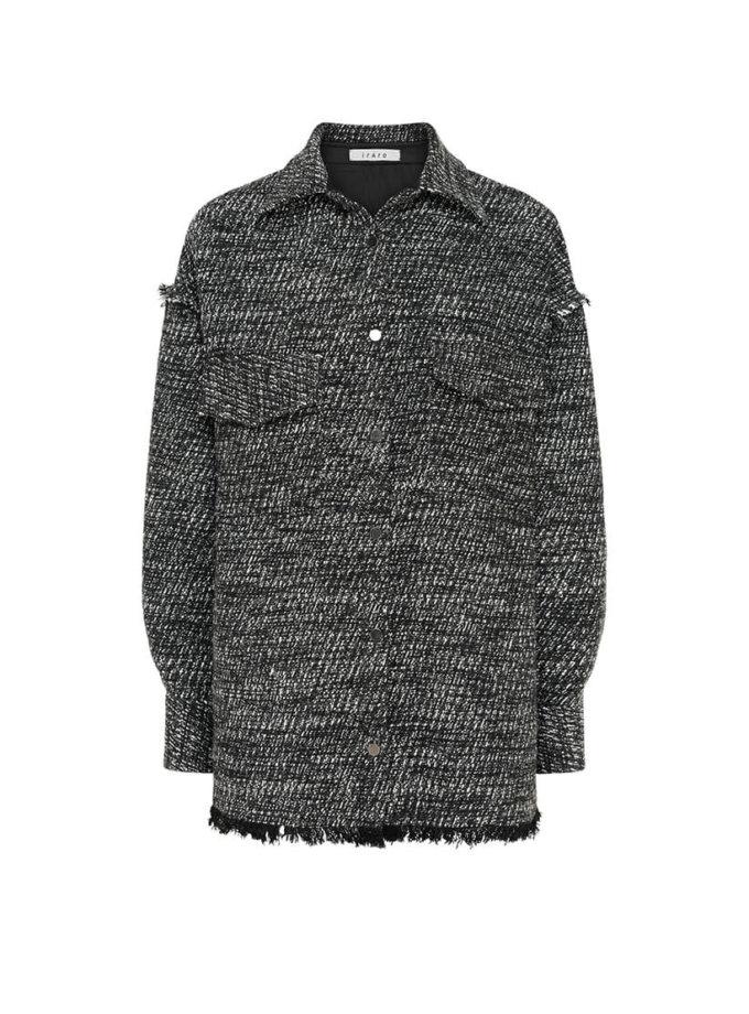 Объемная рубашка из шерсти IRRO_IR_FW20_SB_008, фото 1 - в интернет магазине KAPSULA