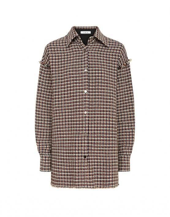 Объемная рубашка из шерсти IRRO_IR_FW20_SC_009, фото 5 - в интеренет магазине KAPSULA