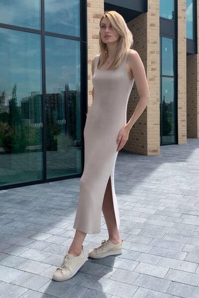 Трикотажное платье FRBC_FBPL_FW_20_01, фото 1 - в интеренет магазине KAPSULA