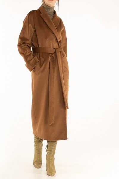 Пальто из кашемира с поясом Brown WNDR_ Fw1920_cshbr_11, фото 1 - в интеренет магазине KAPSULA