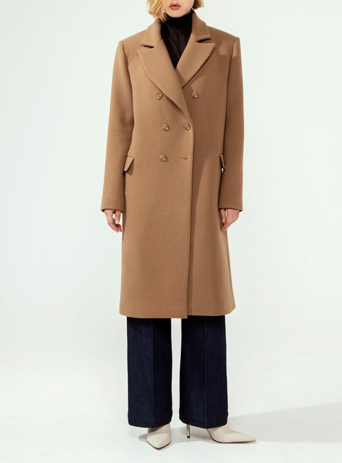Двубортное пальто из шерсти IRRO_IR_FW20_CB_001, фото 1 - в интернет магазине KAPSULA