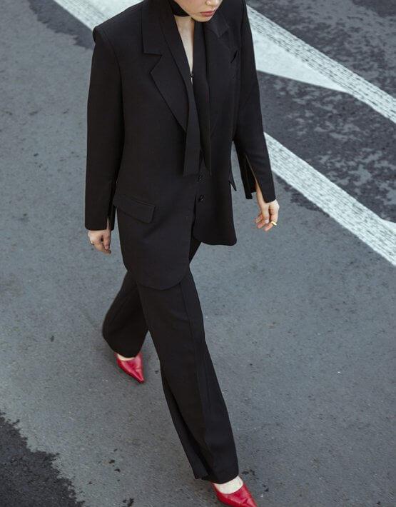 Жакет из шерсти с молниями IRRO_IR_FW20_JB_002, фото 4 - в интеренет магазине KAPSULA