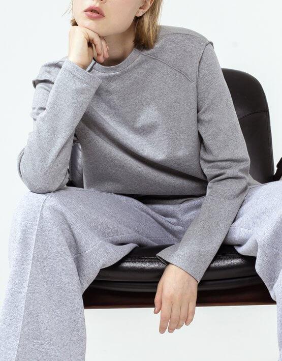 Хлопковый лонгслив с вышивкой IRRO_IR_FW20_LG_015, фото 3 - в интеренет магазине KAPSULA