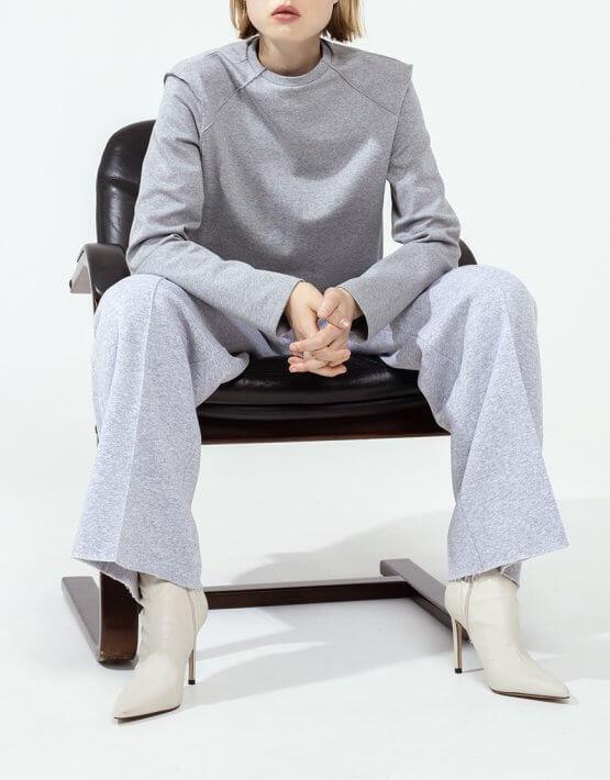 Хлопковые брюки-клёш IRRO_IR_FW20_PS_014, фото 2 - в интеренет магазине KAPSULA