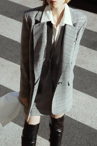 Юбка в клетку из шерсти IRRO_IR_FW20_SP_006, фото 5 - в интеренет магазине KAPSULA
