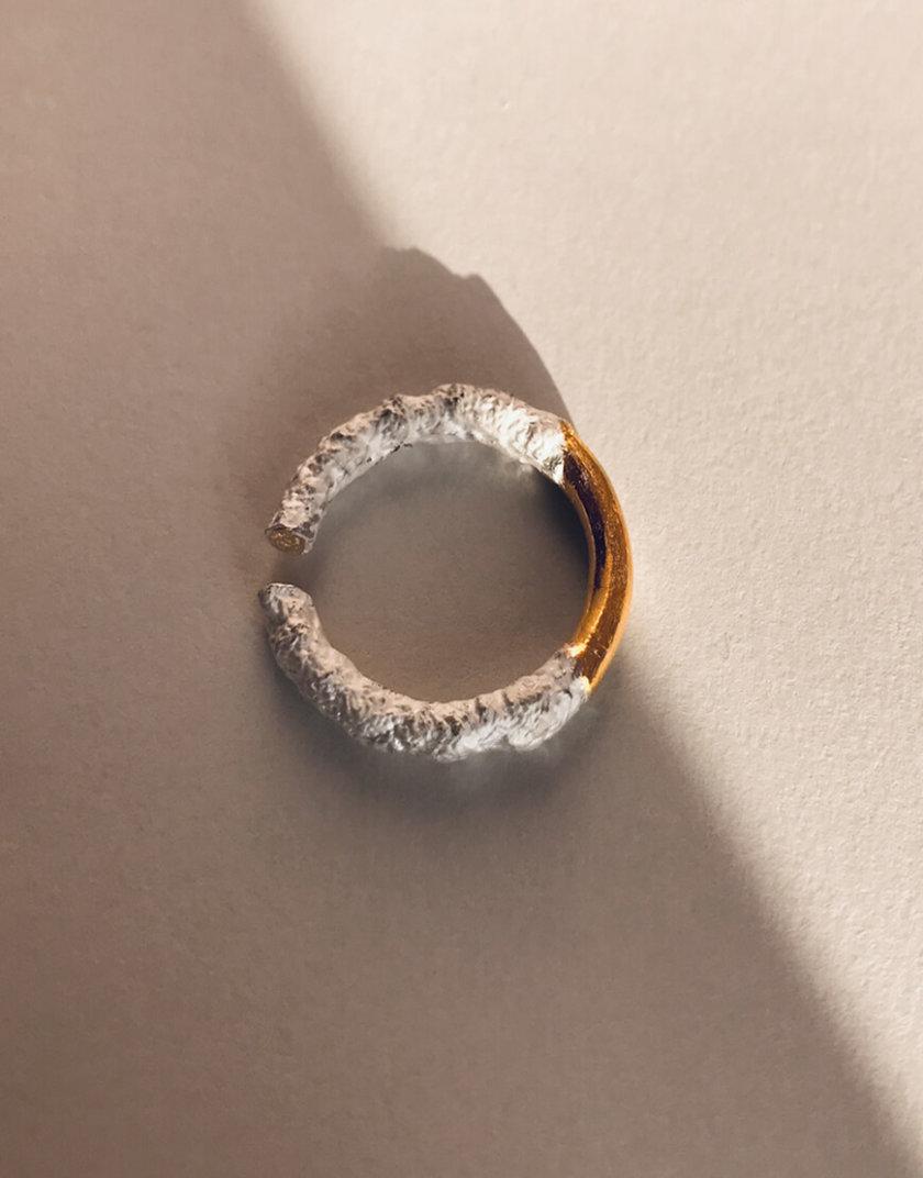 Кольцо или кафф с позолотой LGV_leela003, фото 1 - в интеренет магазине KAPSULA