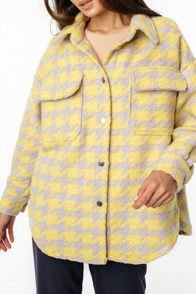 Куртка-рубашка oversize из шерсти MGN_1403ZH, фото 3 - в интеренет магазине KAPSULA