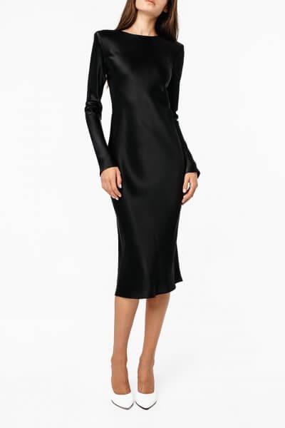 Платье миди с поясом MGN_1722CH, фото 1 - в интеренет магазине KAPSULA