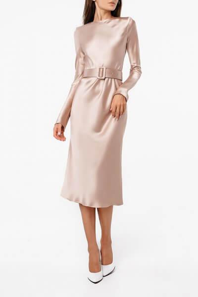 Платье миди с поясом MGN_1722N, фото 3 - в интеренет магазине KAPSULA