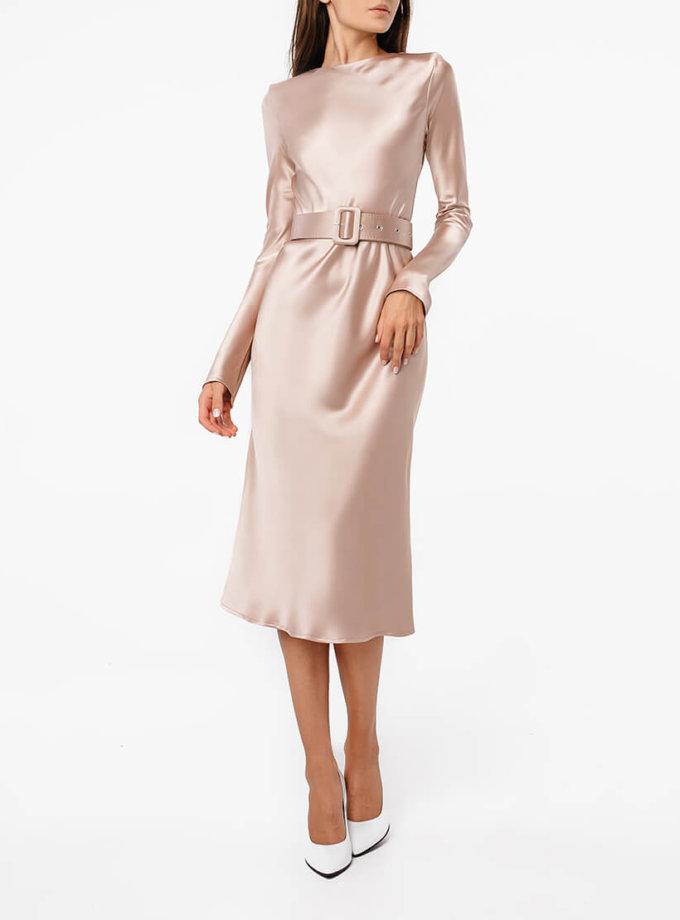 Платье миди с поясом MGN_1722N, фото 1 - в интернет магазине KAPSULA