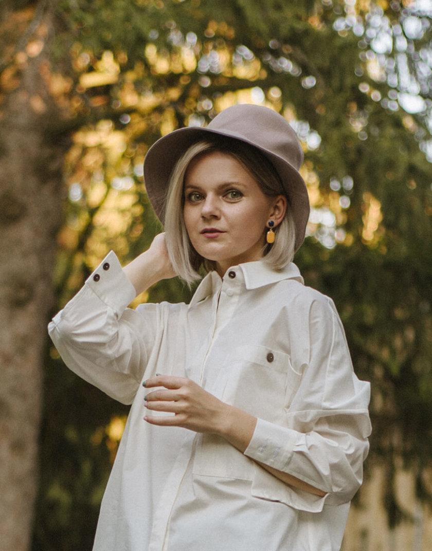 Теплая шляпа на подкладе MNTK_MTH07, фото 1 - в интернет магазине KAPSULA