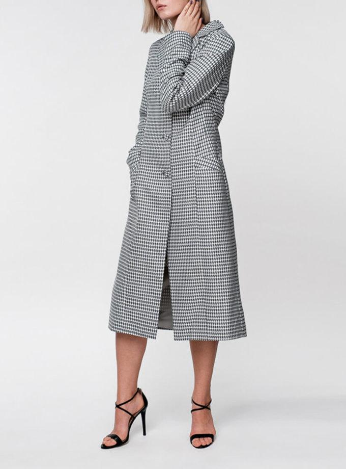 Легкое пальто из хлопка на подкладе NM_305, фото 1 - в интернет магазине KAPSULA