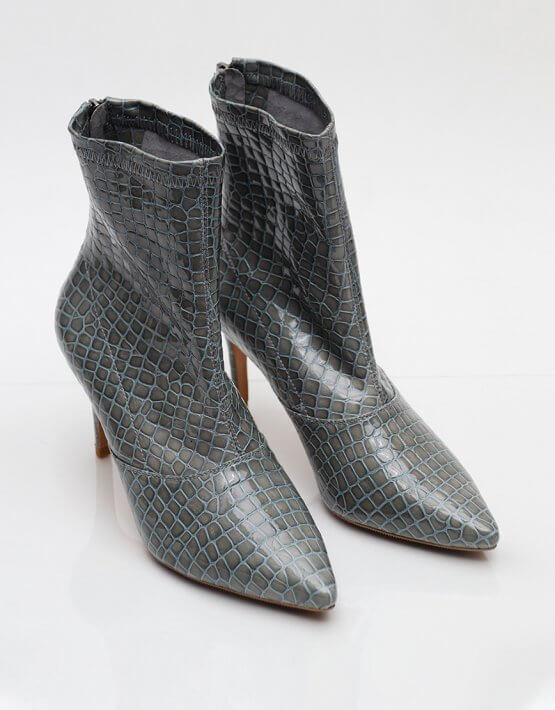 Кожаные ботинки на каблуке NZR_Rainbow-lagoon, фото 3 - в интеренет магазине KAPSULA