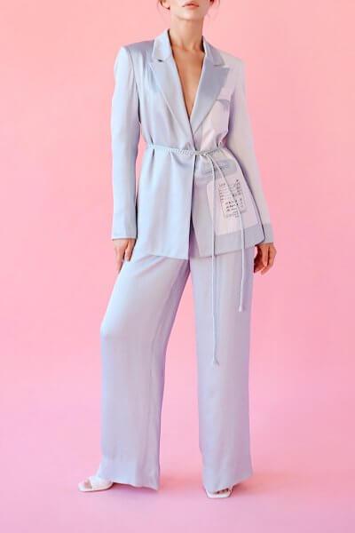 Костюм в пижамном стиле SAYYA_SS1030-1, фото 1 - в интеренет магазине KAPSULA