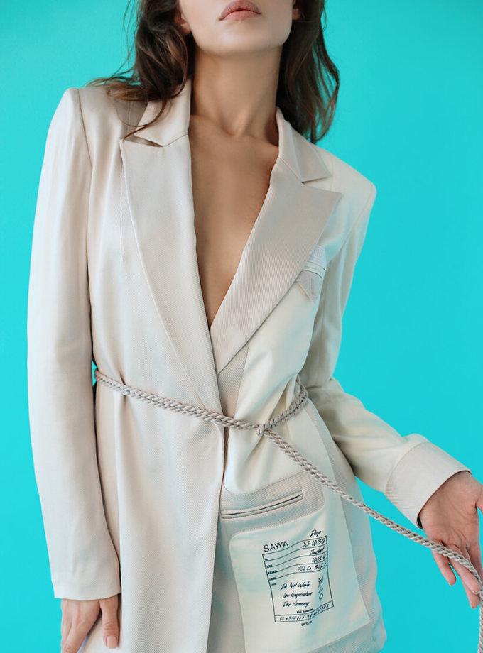 Костюм в пижамном стиле SAYYA_SS1030, фото 1 - в интернет магазине KAPSULA