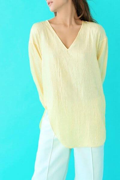Блуза с открытой спиной SAYYA_SS1035-1, фото 1 - в интеренет магазине KAPSULA