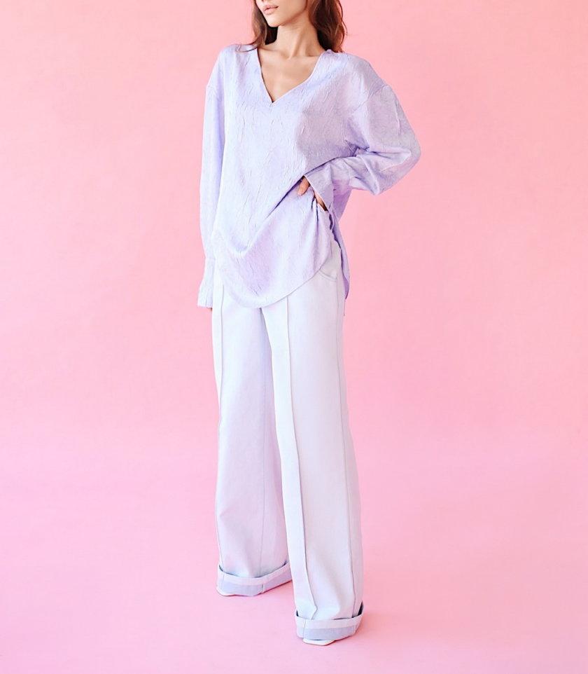 Блуза с открытой спиной SAYYA_SS1035, фото 1 - в интернет магазине KAPSULA