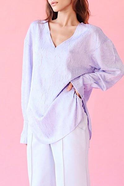 Блуза с открытой спиной SAYYA_SS1035, фото 1 - в интеренет магазине KAPSULA