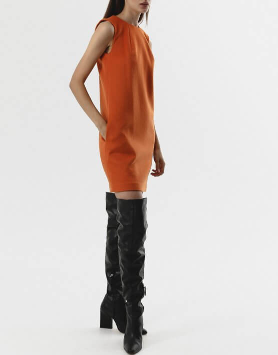 Платье мини из кашемира SHKO_15064015, фото 4 - в интеренет магазине KAPSULA