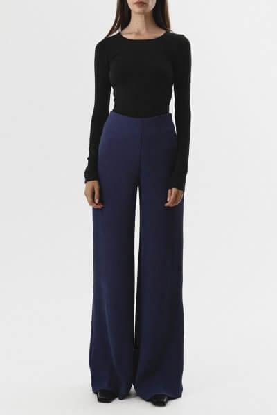 Широкие брюки на высокой посадке SHKO_19004004, фото 1 - в интеренет магазине KAPSULA