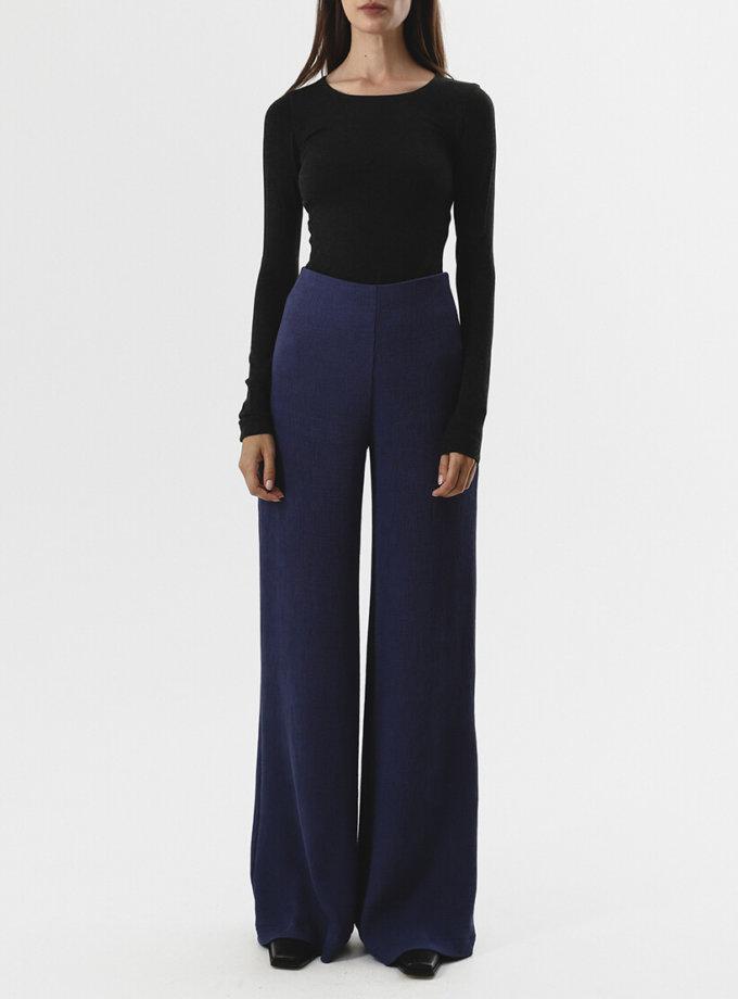 Широкие брюки на высокой посадке SHKO_19004004, фото 1 - в интернет магазине KAPSULA