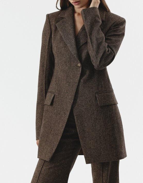 Жакет из шерсти на подкладе SHKO_20016002, фото 4 - в интеренет магазине KAPSULA