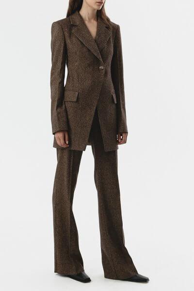 Прямые брюки из шерсти SHKO_20017002, фото 1 - в интеренет магазине KAPSULA