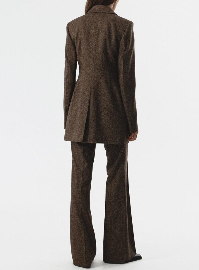 Жакет из шерсти на подкладе SHKO_20016002, фото 1 - в интернет магазине KAPSULA
