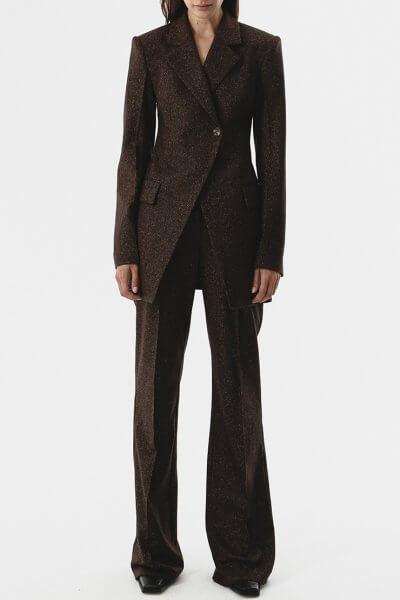 Прямые брюки из шерсти SHKO_20017001, фото 1 - в интеренет магазине KAPSULA