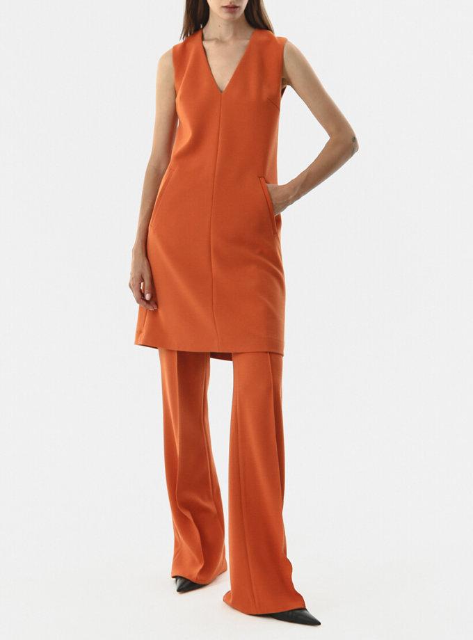 Прямые брюки с карманами SHKO_20017005, фото 1 - в интеренет магазине KAPSULA