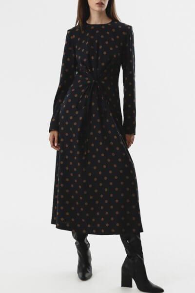 Платье с тесьмами на талии SHKO_20018001, фото 1 - в интеренет магазине KAPSULA