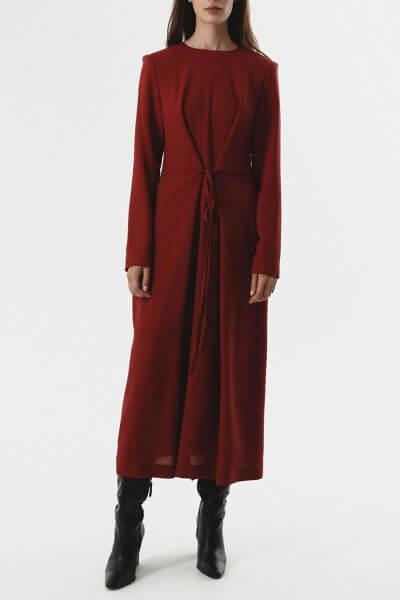 Платье с тесьмами на талии SHKO_20018002, фото 1 - в интеренет магазине KAPSULA