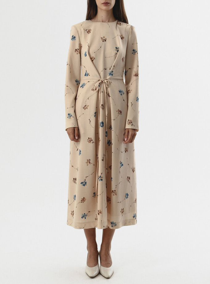 Платье из шерсти с тесьмами SHKO_20018003, фото 1 - в интеренет магазине KAPSULA