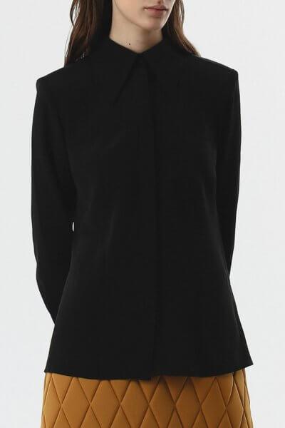 Блуза с карманами SHKO_20019001, фото 1 - в интеренет магазине KAPSULA